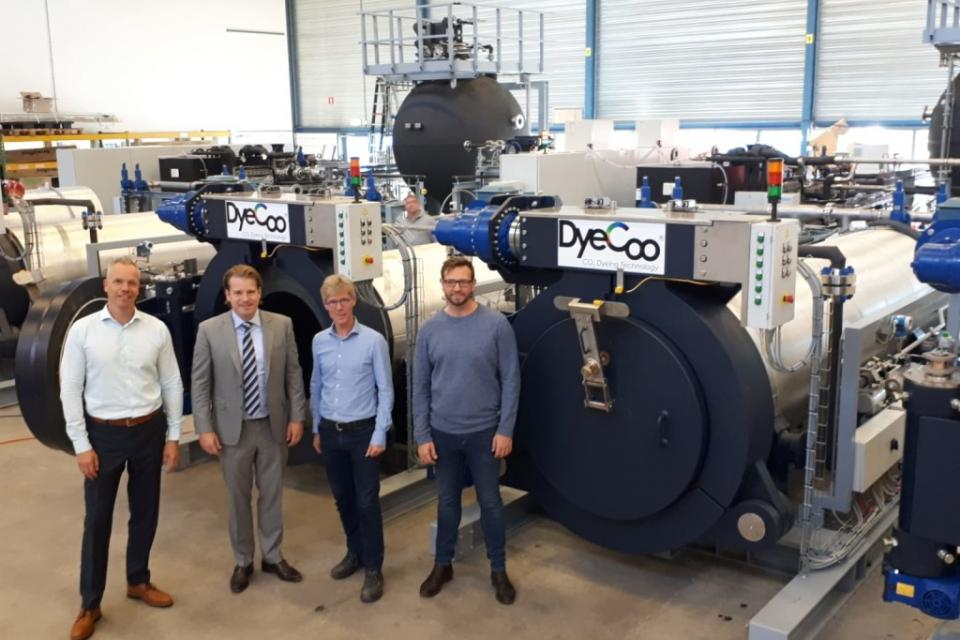 VDL ETG Projects assembles a sustainable dyeing machine